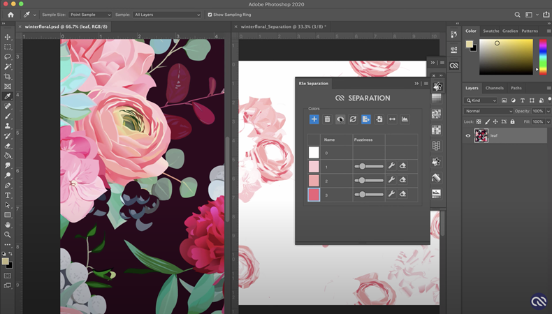 New Developments for Textile Design Software and Image Workflow for Digital Textile Printing