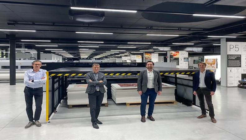 Durst launches new P5 350 High Speed printing system