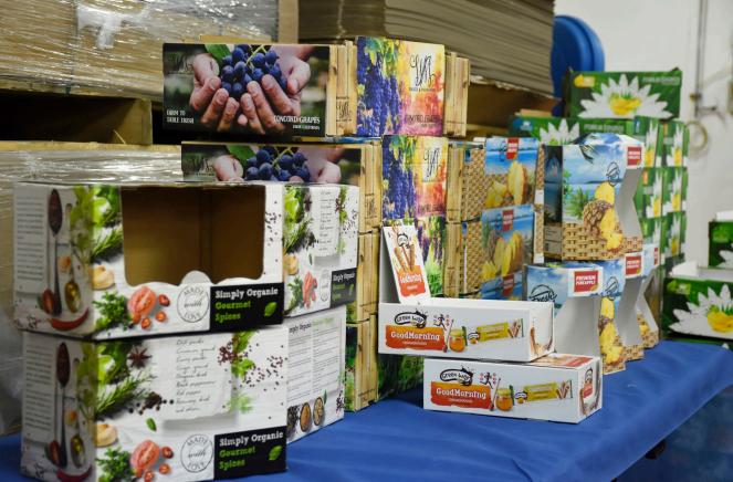 Bespoke packaging with wide format digital printing