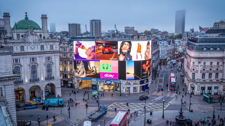 London's Piccadilly lights unveils new-look screen