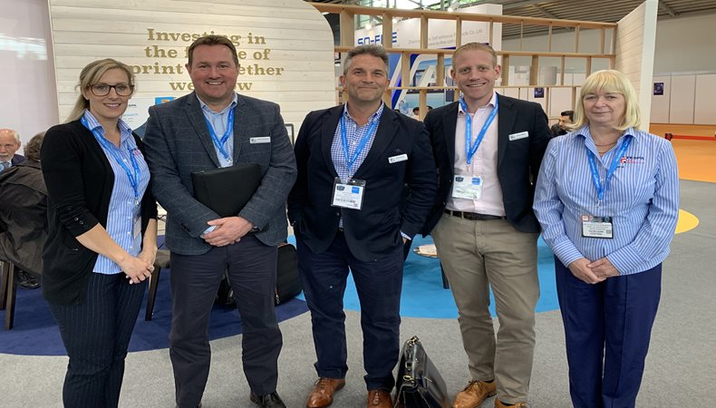 Compass seeks new opportunities with FESPA UK