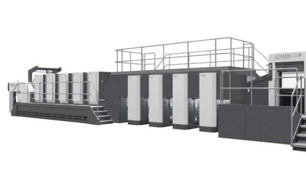 Komori launches Lithrone GX44RP offset press