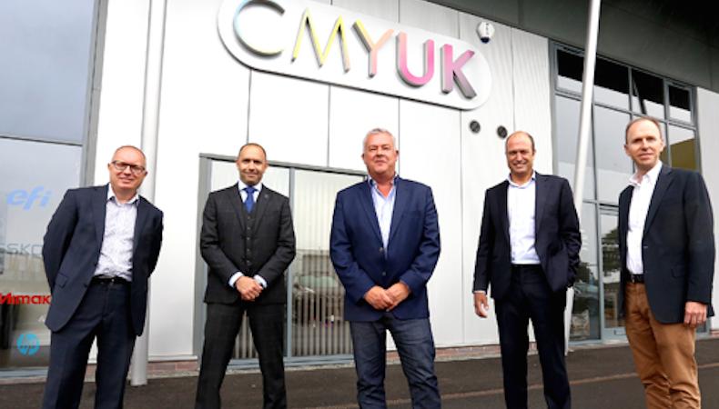 CMYUK partners with HP
