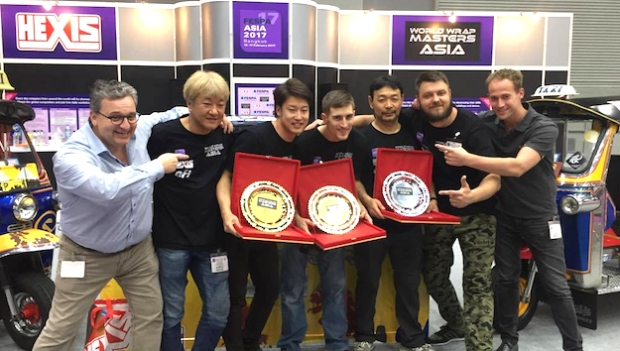 Wrap Master Asia honoured by victory