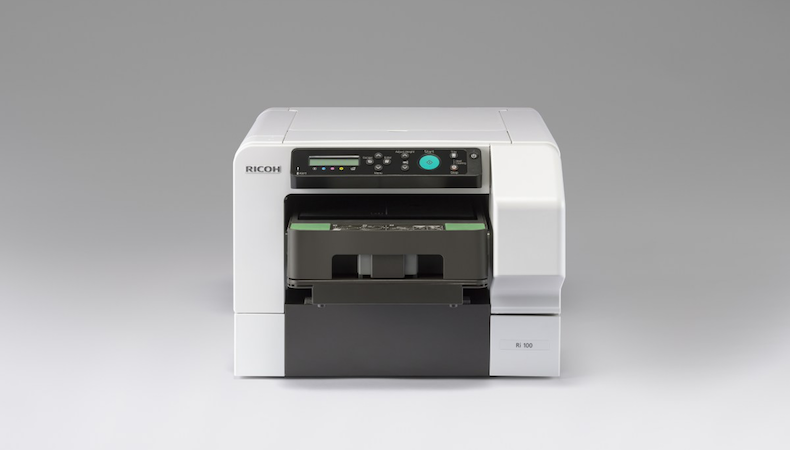 Ricoh unveils Ri 100 direct to garment printer