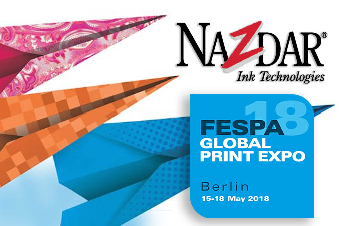 Nazdar Ink Technologies to reveal latest ink innovations at FESPA 2018