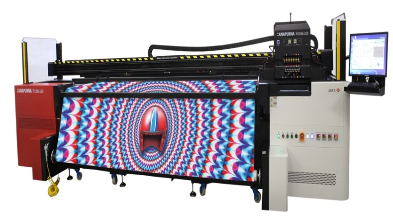 Agfa to demo its Jeti Tauro H3300 LED flagship at FESPA 2019