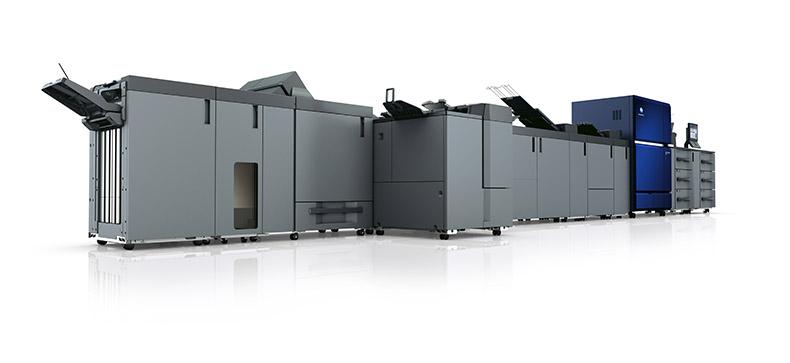 Konica Minolta kündigt tonerbasiertes Drucksystem AccurioPressC14000 an