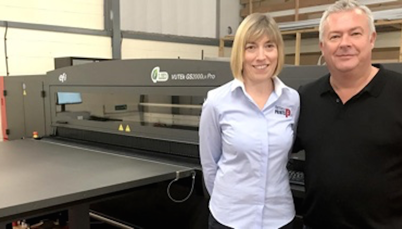Fantasy Prints invests in new EFI Vutek GS2000LX Pro