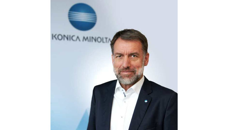 Konica Minolta Deutschland und Österreich: Neuer Geschäftsführer, neuer Fokus