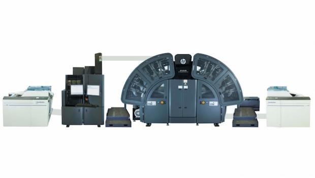 HP presenta la nueva prensa de bobina HP PageWide T235 HD