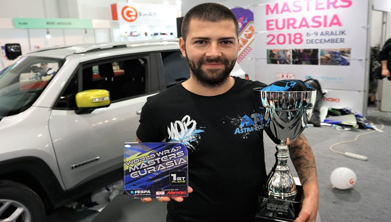 Reigning World Wrap Masters Champion, Ivan Tenchev wins Wrap Masters Eurasia 2018