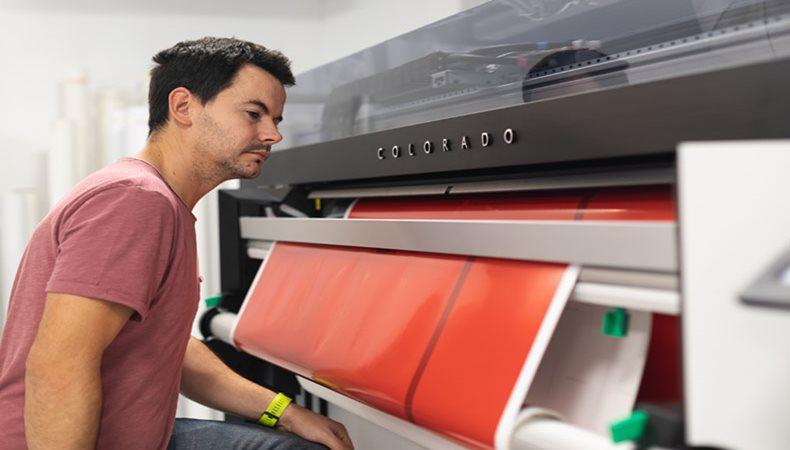 Canon UVgel Technologie beflügelt Druckereien
