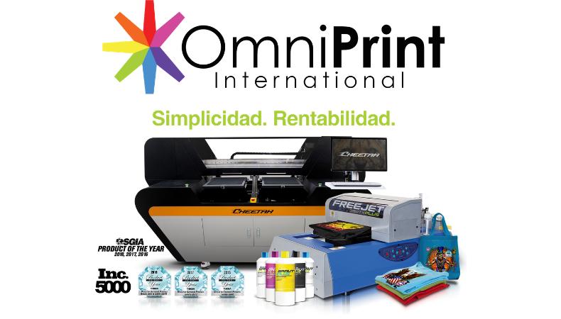 OmniPrint promete sorprender en FESPA Mexico 2019