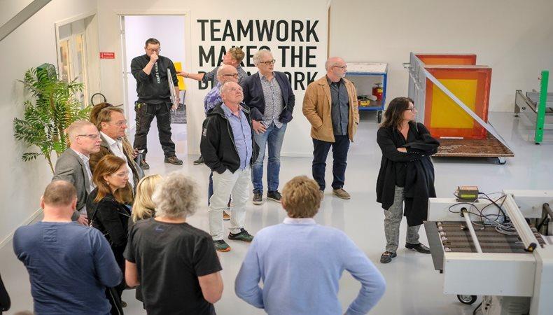 Graeme visits the FESPA Sweden Association