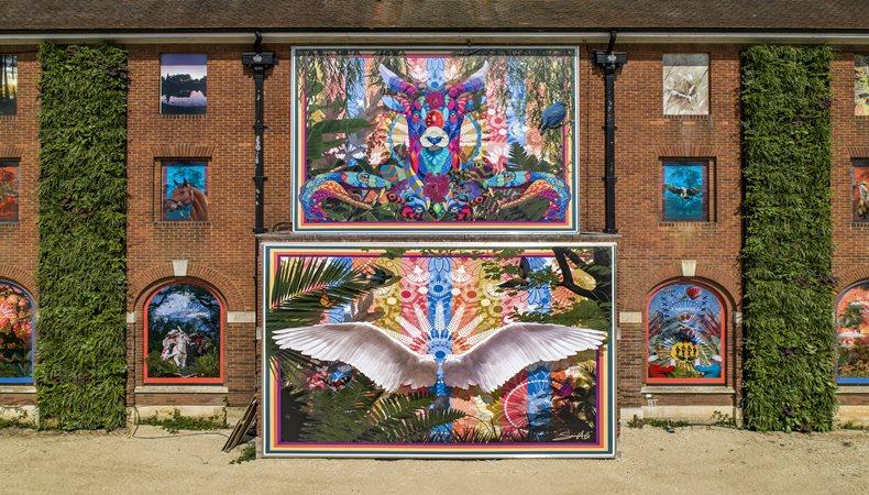 Embrace Building Wraps sorgt mit einer riesigen nachhaltigen Installation für Aufsehen