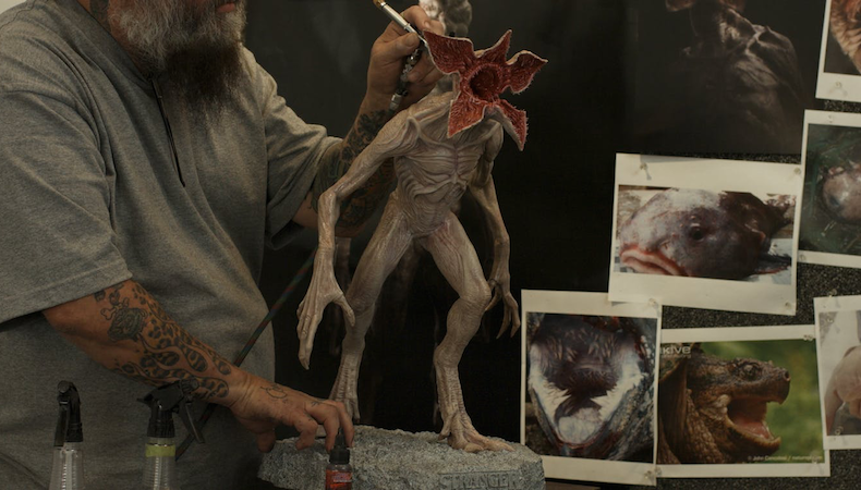 How 3D printing helped create the 'Stranger Things' Demogorgon