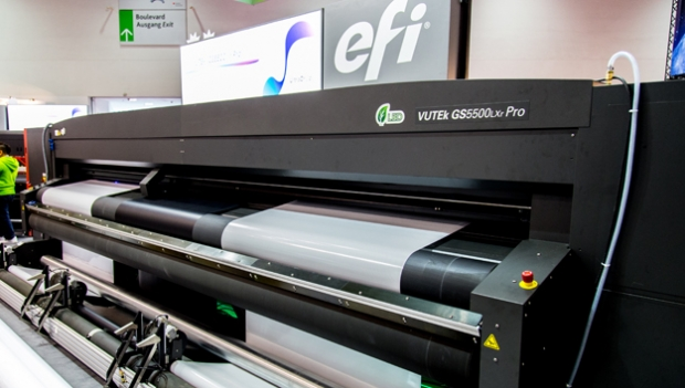 EFI launches Vutek, its fastest roll-to-roll printer at FESPA 2015