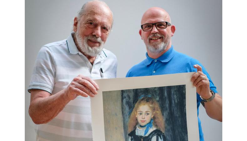 Graeme entrevista a Michel Caza, padre fundador y ex presidente de FESPA