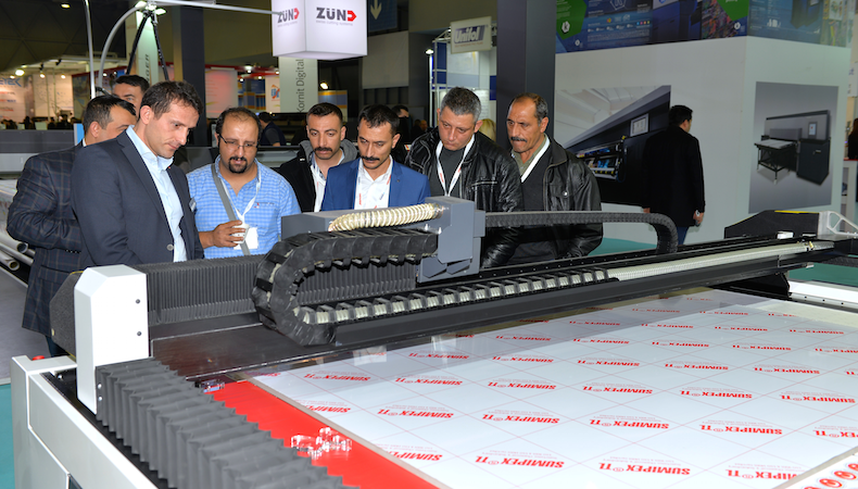 Exhibitors double space for FESPA Eurasia 2017