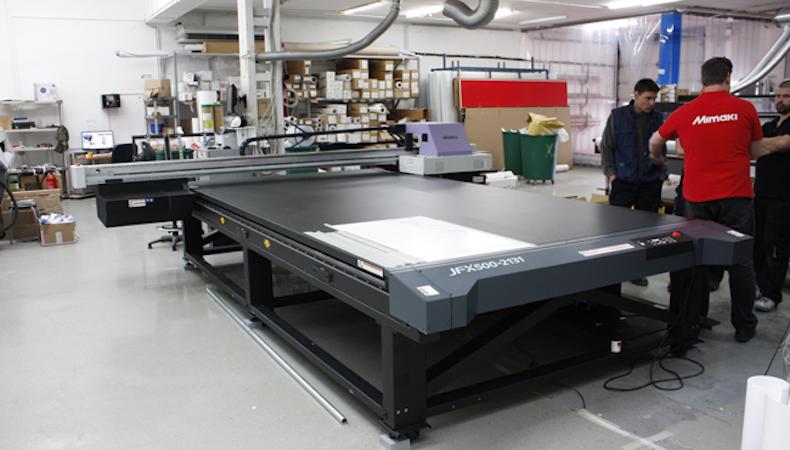 Real Print mejora rendimiento y calidad con la Mimaki JFX500-2131