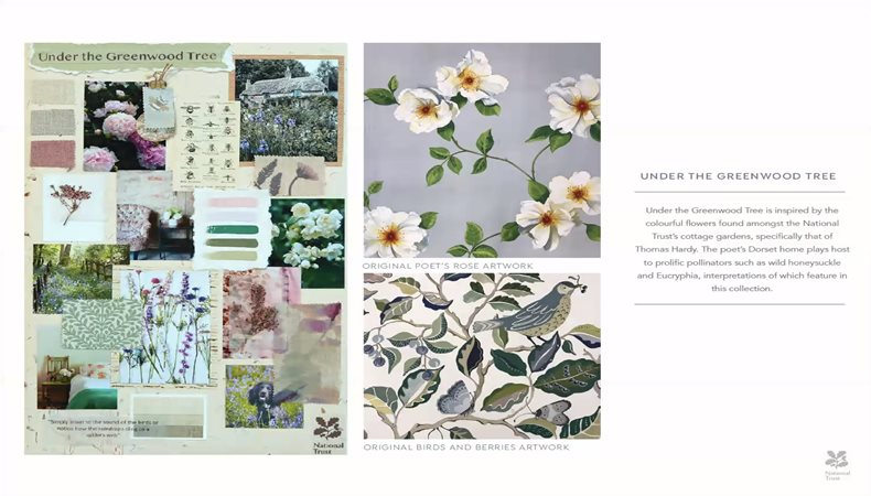 Design and production for sustainable Interiors – Sanderson launch the National Trust Collection