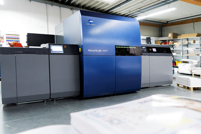Konica Minolta supera las treinta instalaciones de AccurioJet KM-1
