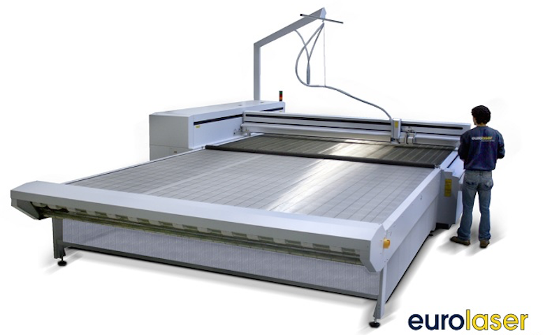 Eurolaser presents large format textile cutting