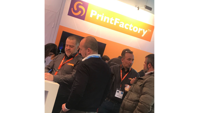 PrintFactory has buoyant show at FESPA 2019