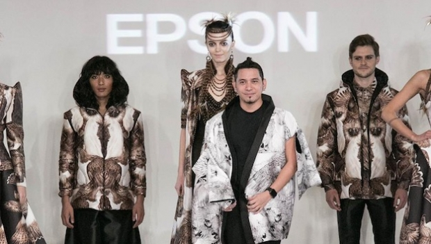 Epson and John Herrera team up for fashion collection