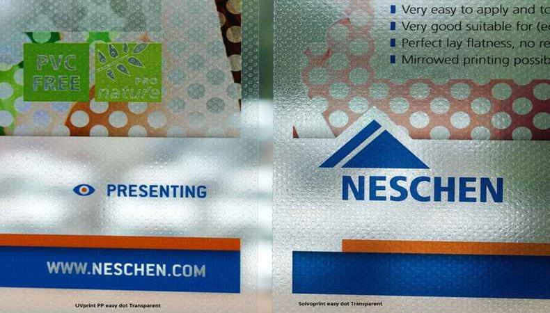 Neschen-Folien für Shops und mehr
