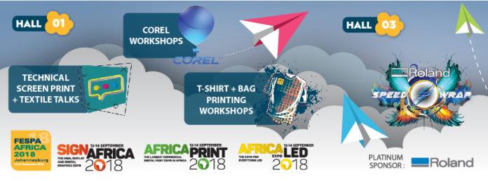 FESPA Africa 2018 und Sign Africa kündigen Bildungsangebote an
