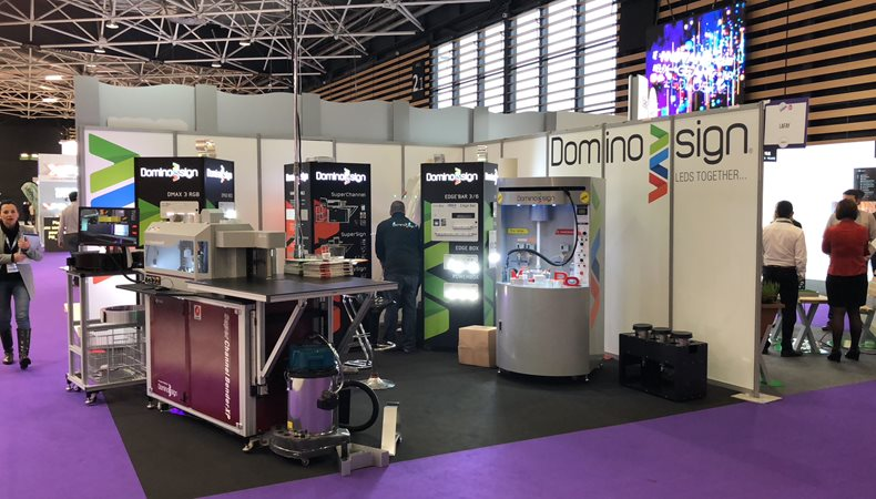 Domino Sign set to shine at European Sign Expo