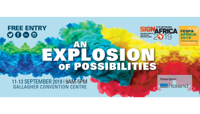 FESPA Africa 2019 and Sign Africa to showcase innovative features