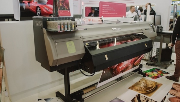 Ricoh presents new feed inkjet platform VC40000