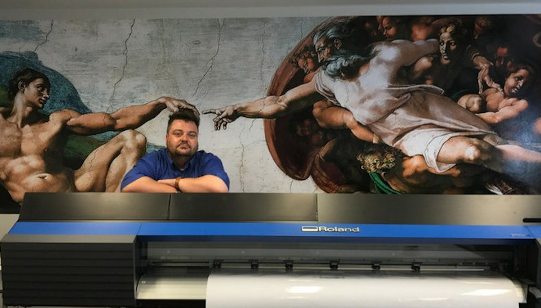 Feenix Sign & Graphics boosts in-house capabilities with Roland buy
