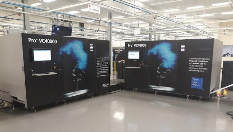 Ricoh amplía su gama de inyección de tinta de alta producción