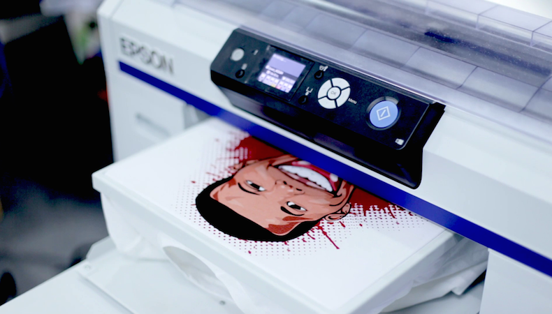 What's new in Direct to Garment printing?