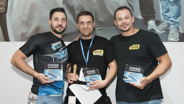 Winners of World Wrap Masters Europe announced in Hamburg
