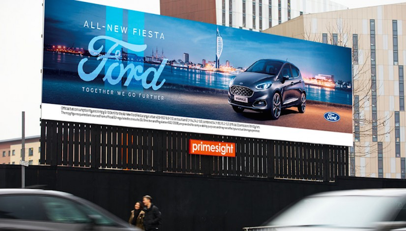 Mobile and OOH combine for new Ford campaign