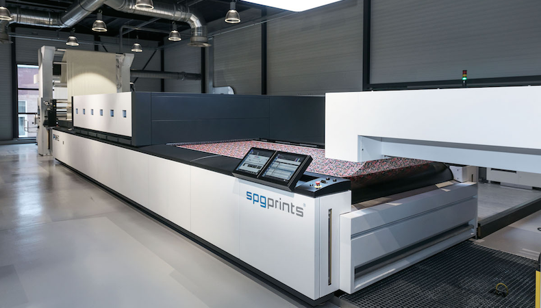 SPGPrints reinforces commitment to digital textile printing