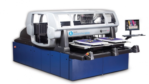 Kornit to unveil new direct-to-garment printer at FESPA Digital