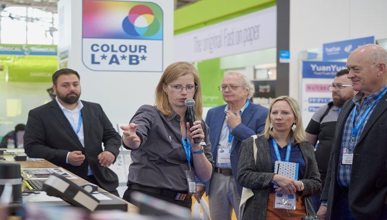 Das Rahmenprogramm der Fespa Global Print Expo boten den Besuchern Mehrwert