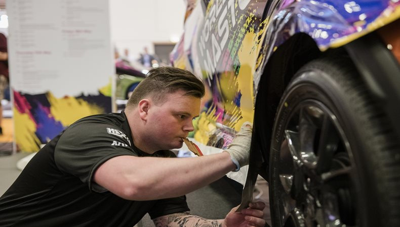 FESPA World Wrap Masters finalist praises 'awesome' event