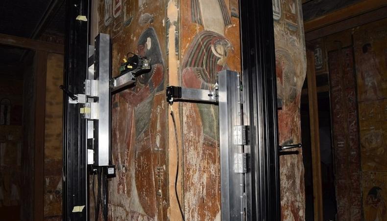 Las tumbas de los faraones egipcios se «clonan» con tecnología Canon