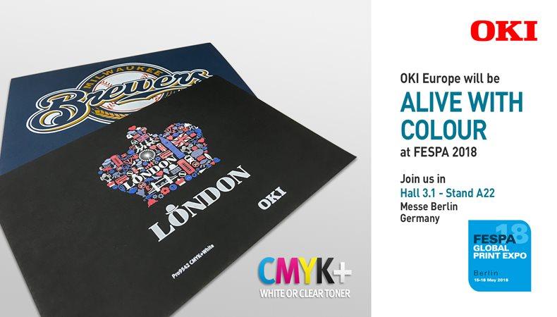 OKI Europe to Showcase Innovative Envelope Print System at FESPA 2018