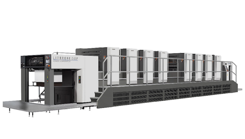 New Komori press to double production capacity at Baesman Group