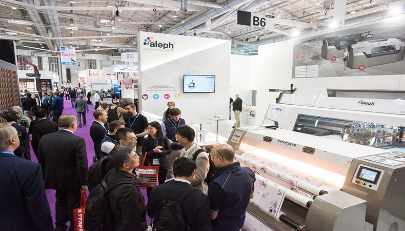 Aleph to showcase latest developments in technology at FESPA 2018
