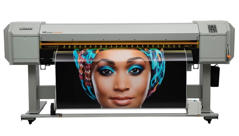 "Mutoh to present new 64"" wide UV LED roll-to-roll printer at FESPA 2018"