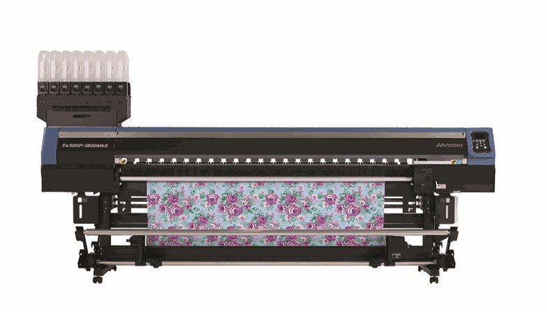 Mimaki präsentiert einen neuen Textil-Hybriddrucker in Madrid